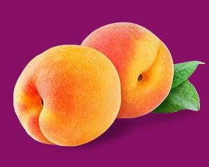 本週的寶寶跟一顆桃子一樣大