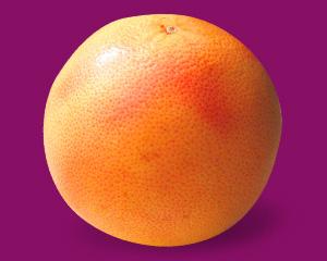 本週的寶寶跟一顆葡萄柚一樣大