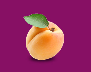 本週的寶寶跟一顆杏桃一樣大