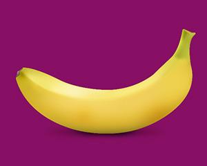 本週的寶寶跟一根香蕉一樣大