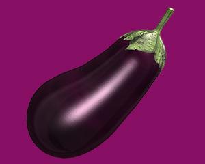 an aubergine