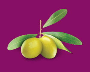 a green olive