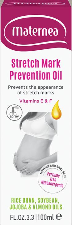 Stretch Mark Prevention Oil